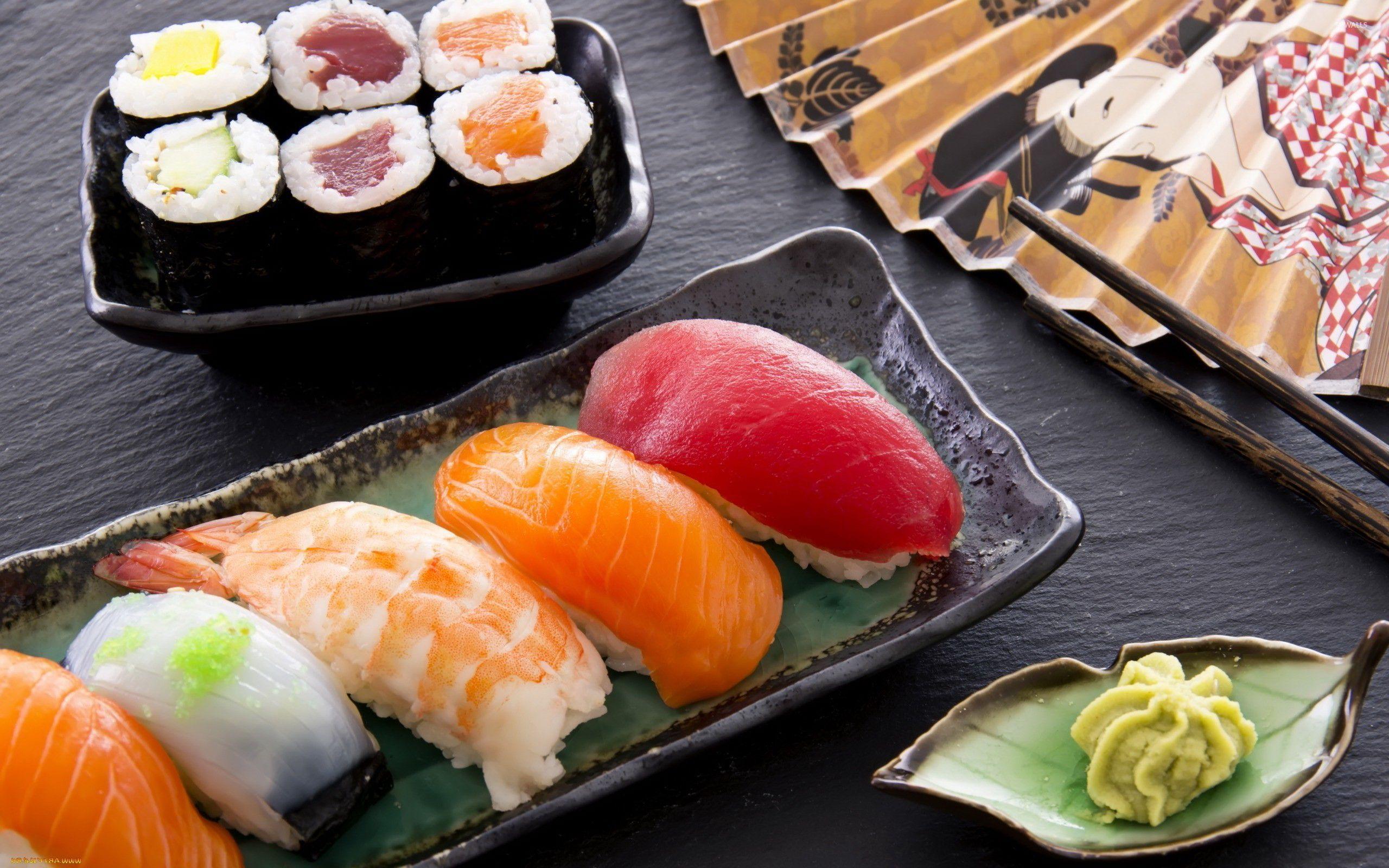 еда суши роллы вассаби япония без смс
