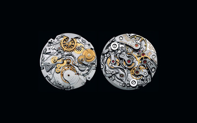 Swiss watch mechanism wallpaper