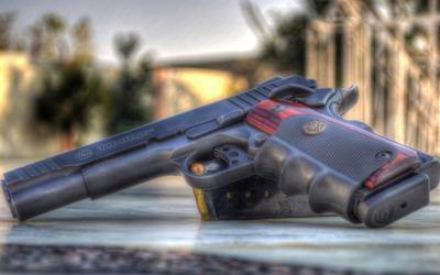 Taurus pistol Wallpaper