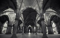 The arches of a church wallpaper 2880x1800 jpg