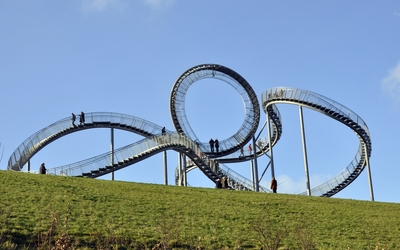 Tiger and Turtle - Magic Mountain wallpaper