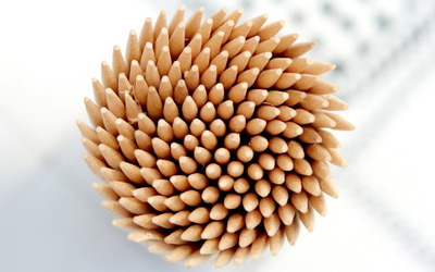 Toothpicks wallpaper