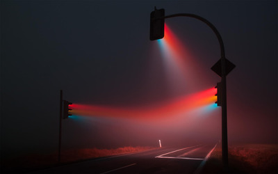 Traffic lights wallpaper