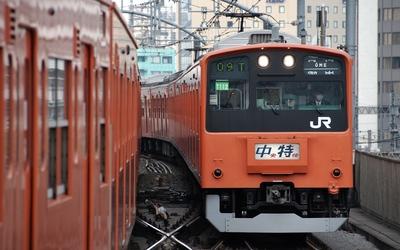 Train in Tokyo Wallpaper