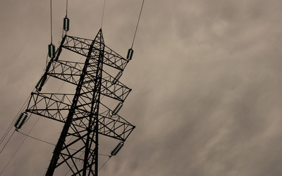 Transmission tower wallpaper