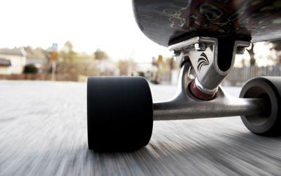 Under a skateboard wallpaper