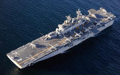 USS Boxer wallpaper