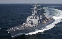 USS Jason Dunham in the ocean wallpaper 1920x1200 jpg