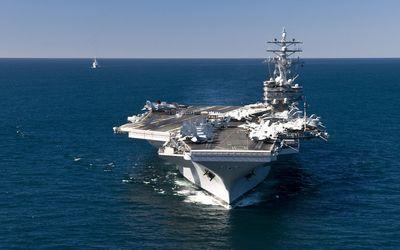 USS Ronald Reagan [2] wallpaper