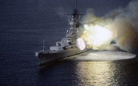 USS Wisconsin battleship wallpaper 2880x1800 jpg