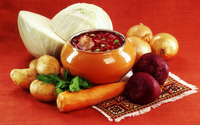 Vegetarian meal wallpaper 1920x1200 jpg