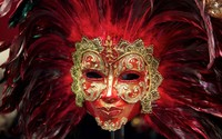 Venetian mask [2] wallpaper 1920x1200 jpg