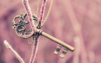 Vintage key wallpaper 2560x1440 jpg