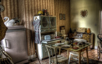 Vintage kitchen [2] wallpaper 1920x1200 jpg