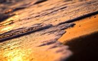 Waves in the sunset [2] wallpaper 1920x1200 jpg