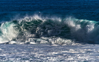 Whirling wave near the beach wallpaper 1920x1080 jpg