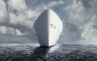 White ship wallpaper 1920x1200 jpg