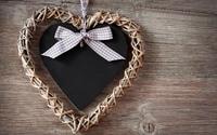 Wooden heart wallpaper 2560x1600 jpg