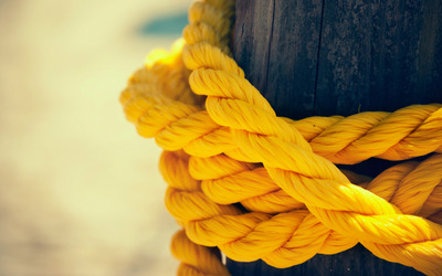Yellow rope wallpaper