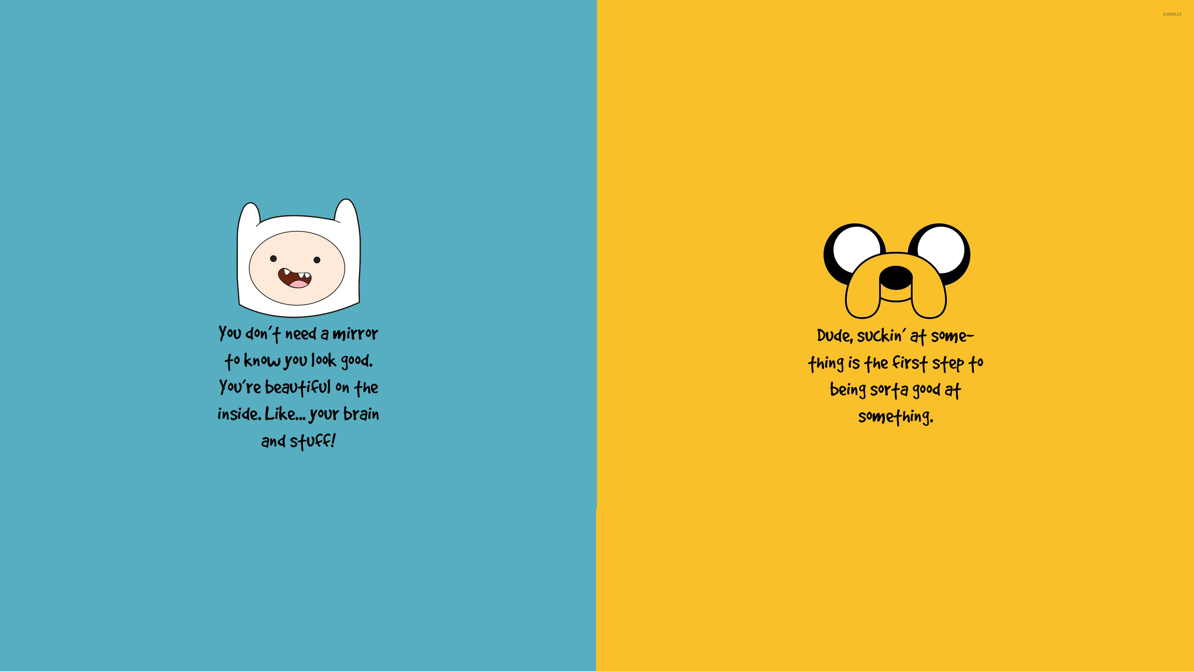 Adventure Time motivation wallpaper Quote wallpapers 28003