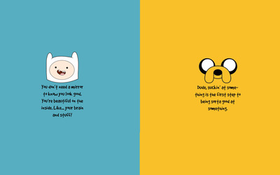 Adventure Time motivation wallpaper