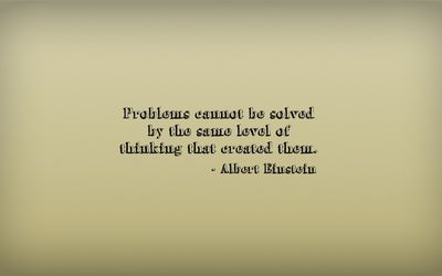 Albert Einstein quote wallpaper