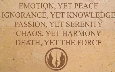 Jedi Code wallpaper