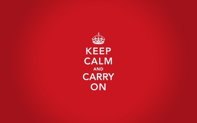 Keep calm and carry on wallpaper