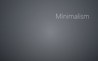 Minimalism on gray blur wallpaper 1920x1080 jpg