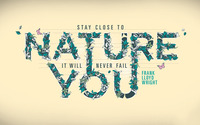 Nature will never fail you wallpaper 1920x1200 jpg