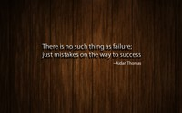 No failure, just mistakes on the way to success wallpaper 1920x1080 jpg