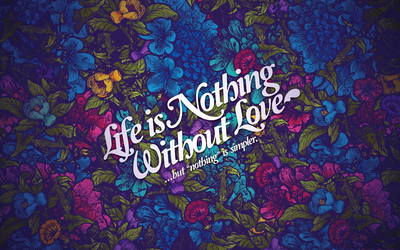 Nothing is simpler wallpaper