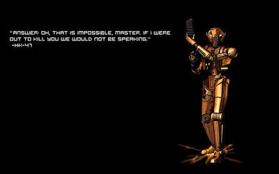 Star Wars quote wallpaper
