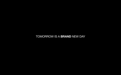 Tomorrow is a brand new day wallpaper