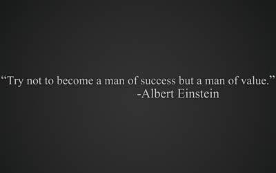 Try to become a man of value wallpaper
