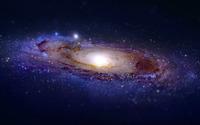 Andromeda Galaxy wallpaper 2880x1800 jpg
