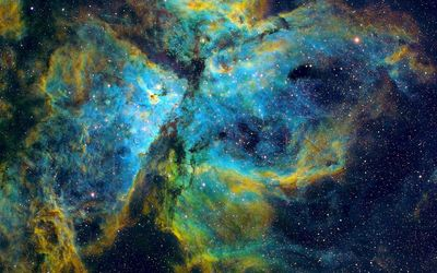 Beautiful Carina Nebula wallpaper