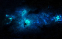 Blue Nebula wallpaper 1920x1200 jpg