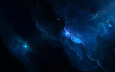 Blue nebula [2] wallpaper