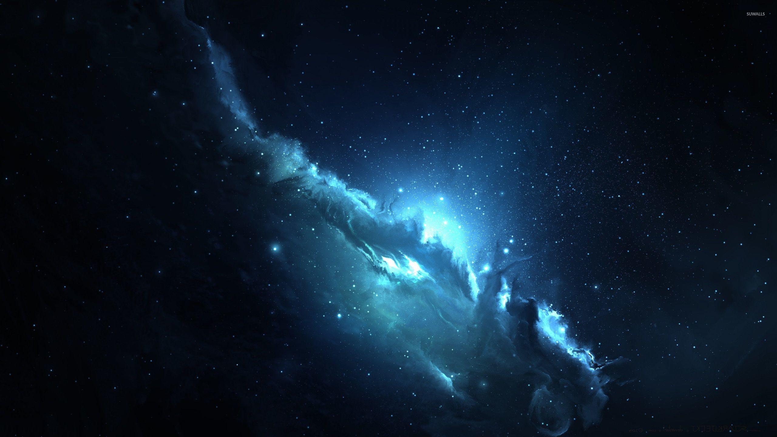 Blue nebula [3] wallpaper - Space wallpapers - #46192