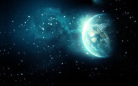 Blue space wallpaper 2560x1600 jpg