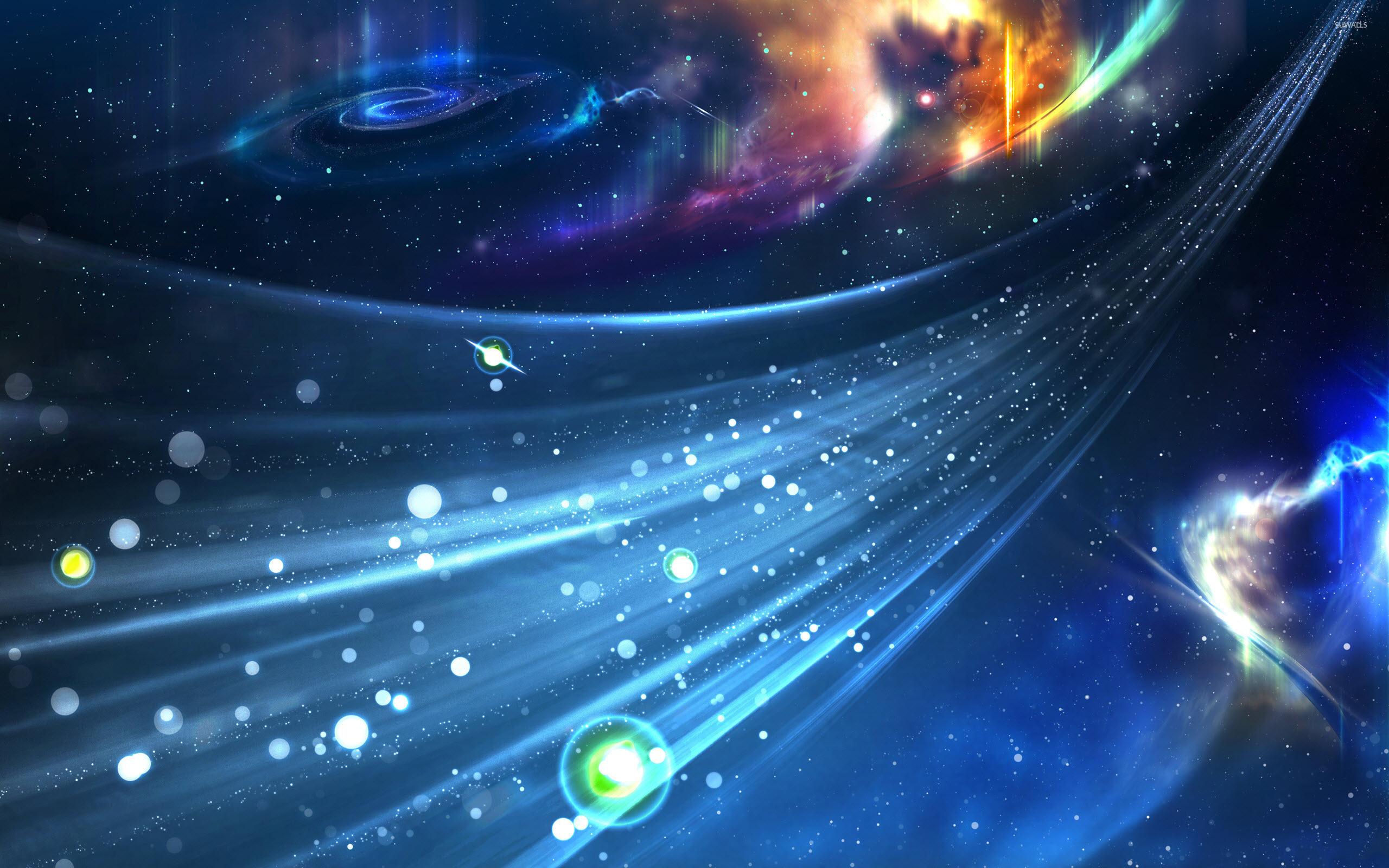 Bright Universe Wallpaper