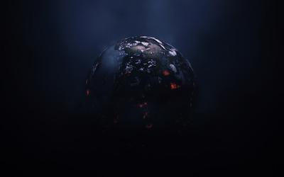 Burning planet [2] wallpaper