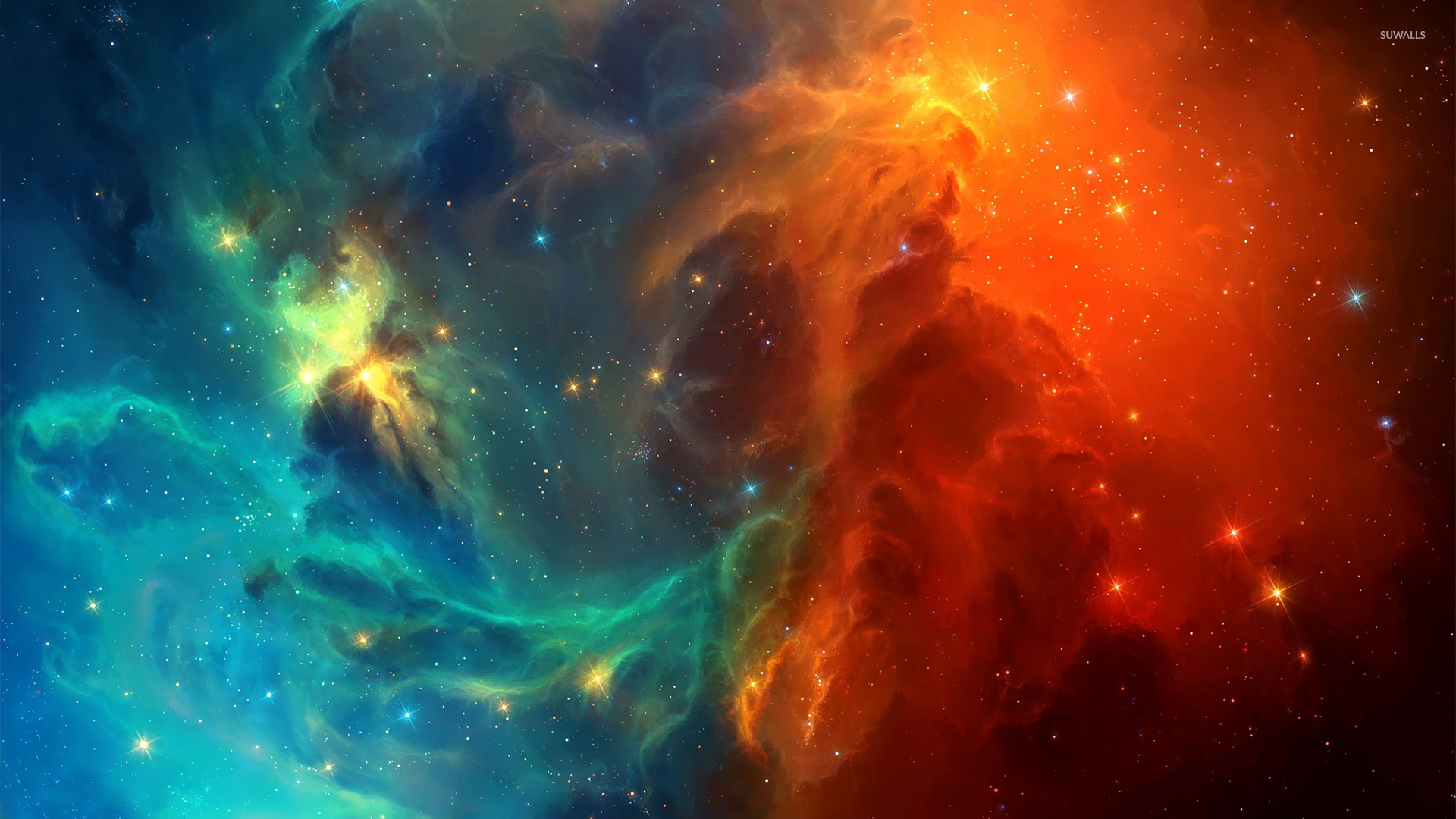colorful nebula iphone wallpaper - photo #24