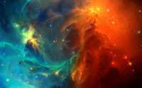 Colorful nebula [2] wallpaper 1920x1080 jpg