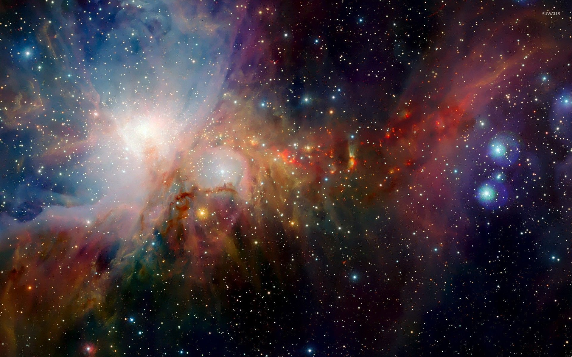 colorful nebula [3] wallpaper - space wallpapers - #28847