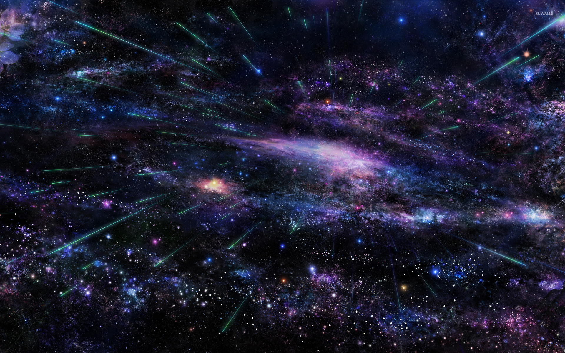 colorful space wallpaper - space wallpapers - #45564