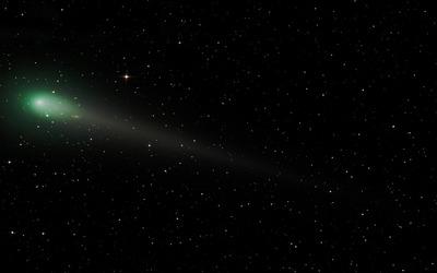 Comet in space wallpaper