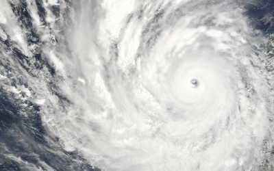 Cyclone Yasi Wallpaper