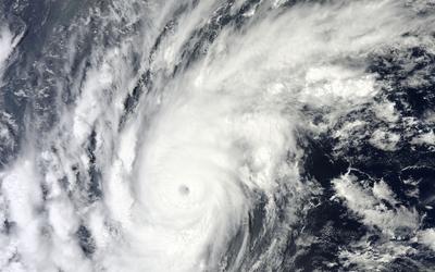 Cyclone Zelia wallpaper